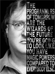 Gabe Newell by kraken626