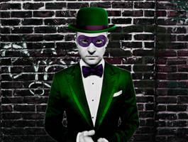 Justin Timberlake as the Riddler