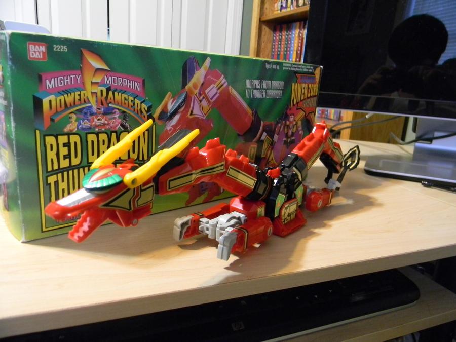 Power Rangers Megazords Red Dragon Thunderzord By