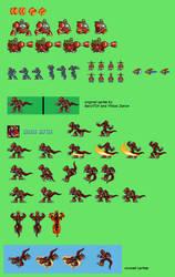 Megaman X: Eclipse Sprites