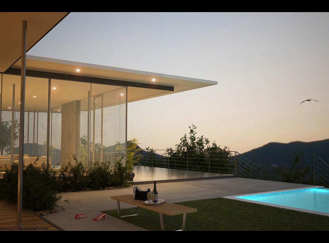 backyard by Addoy55