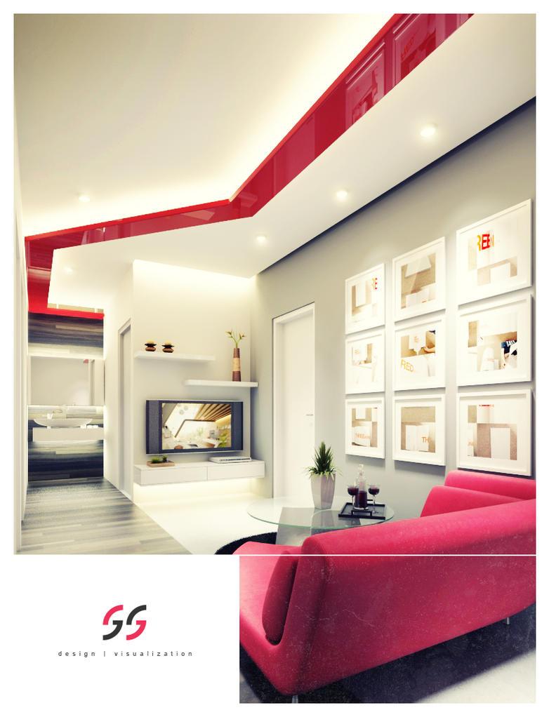 sitting room by Addoy55