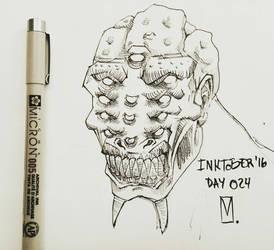 Inktober '16 Day 024 by AdriaMunells