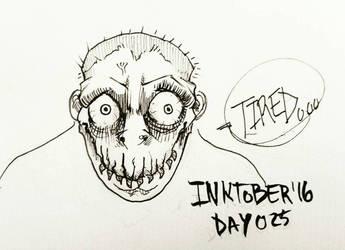 Inktober '16 Day 025 by AdriaMunells
