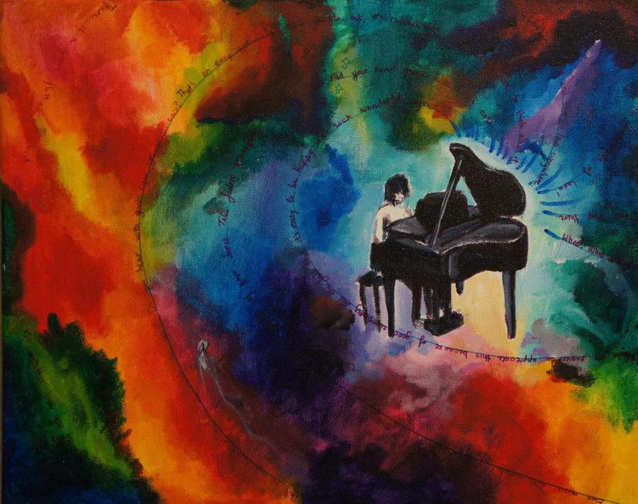 His Piano by kingcael