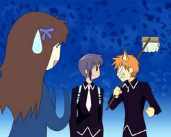 Yuki, Kyo and Tohru by Tohru24kyo