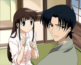 Tohru and Shigure by Tohru24kyo