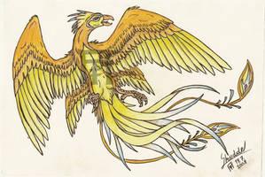 My phoenix, Quanafyron by Skudde