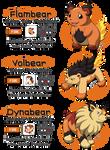Pokemon Gold Demo set #2 - Fire type starter