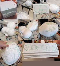 Sculpt WIP1 by Skudde