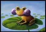 Helium Frog by JulieSkotte