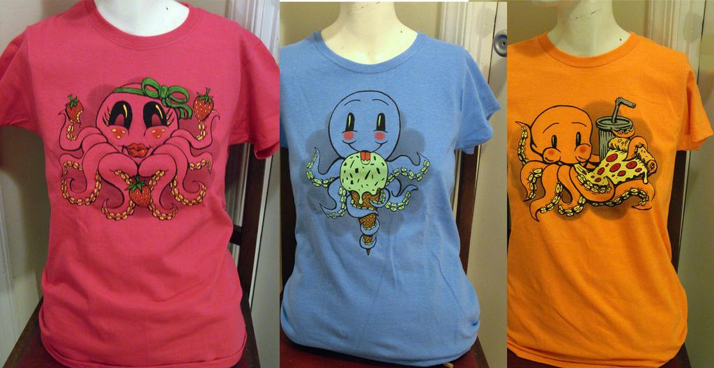 Snacktopi Shirts by rawjawbone