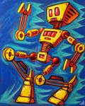 Artbot 5-Piston Pete by rawjawbone