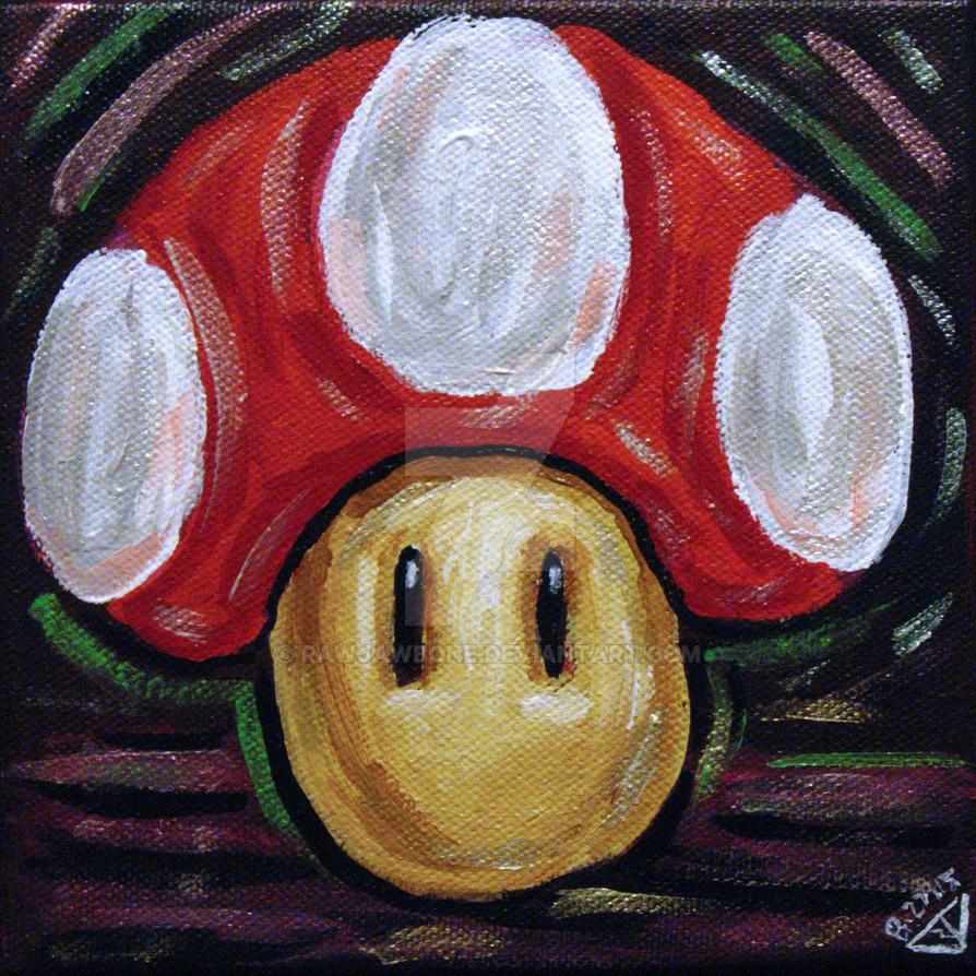 SMB Red Mushroom by rawjawbone