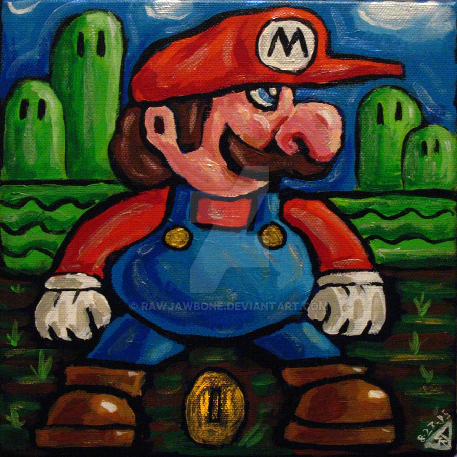 SMB Mario by rawjawbone