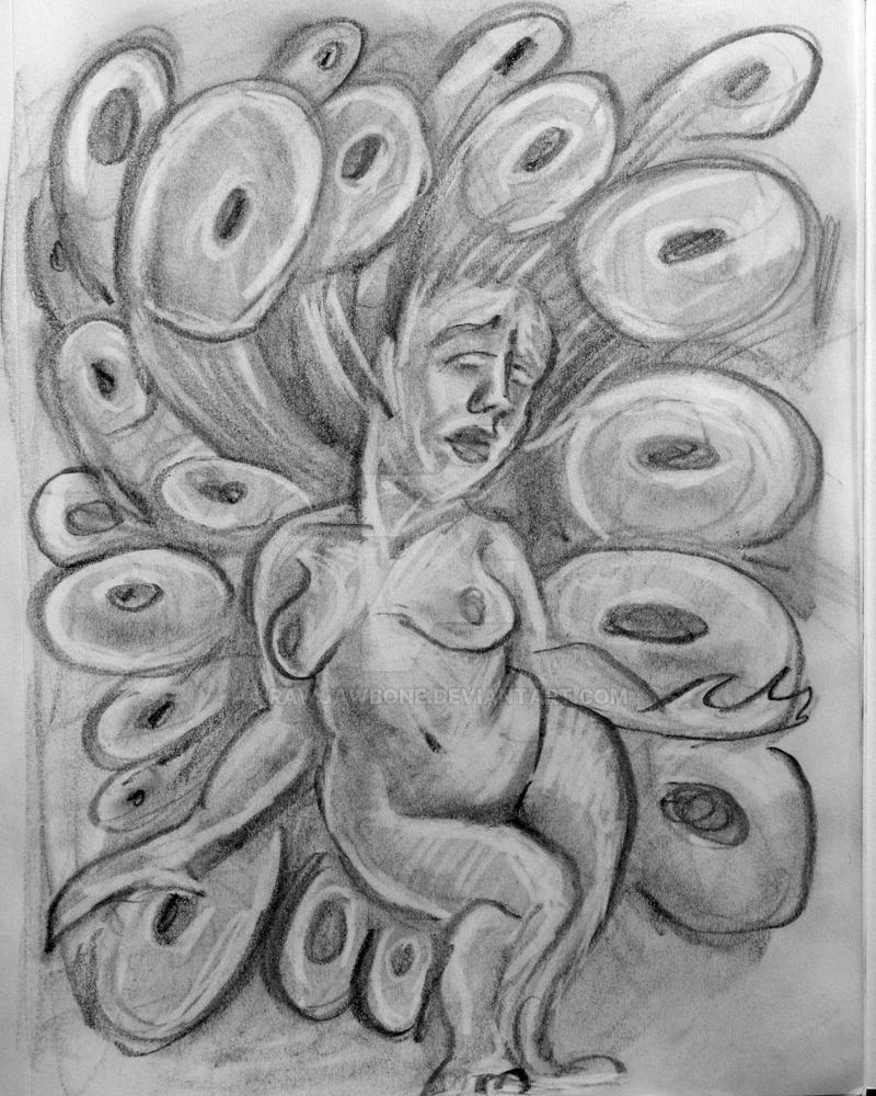 Venus Idol Sketch 7 by rawjawbone