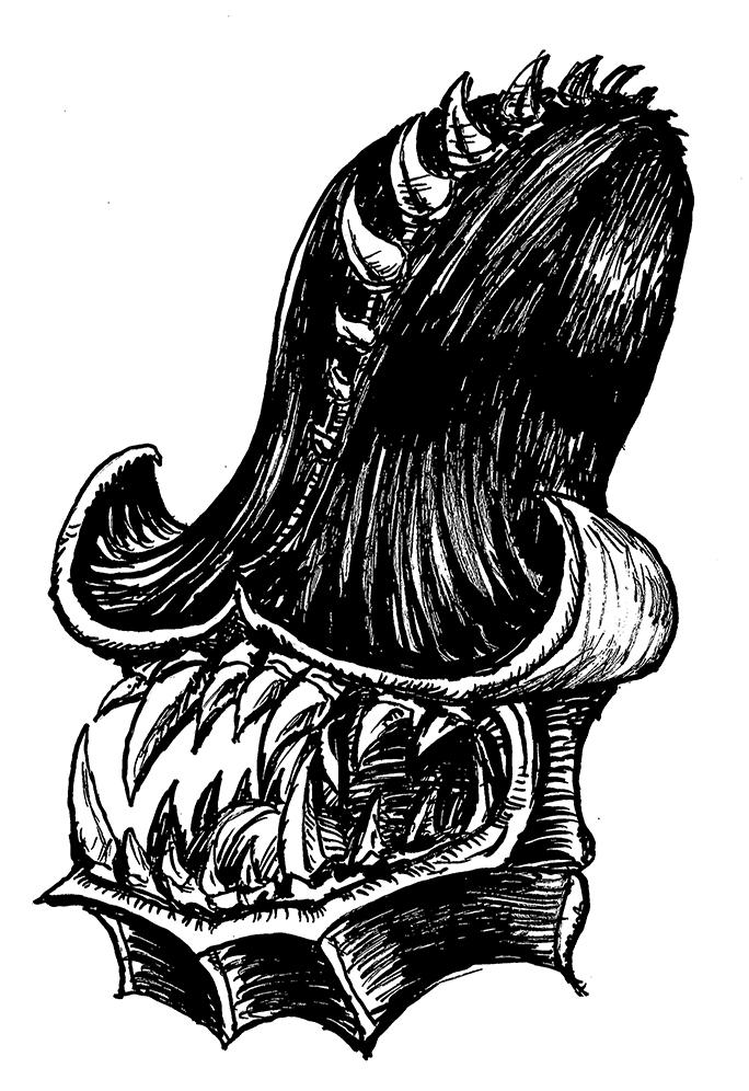 Alien Head by rawjawbone