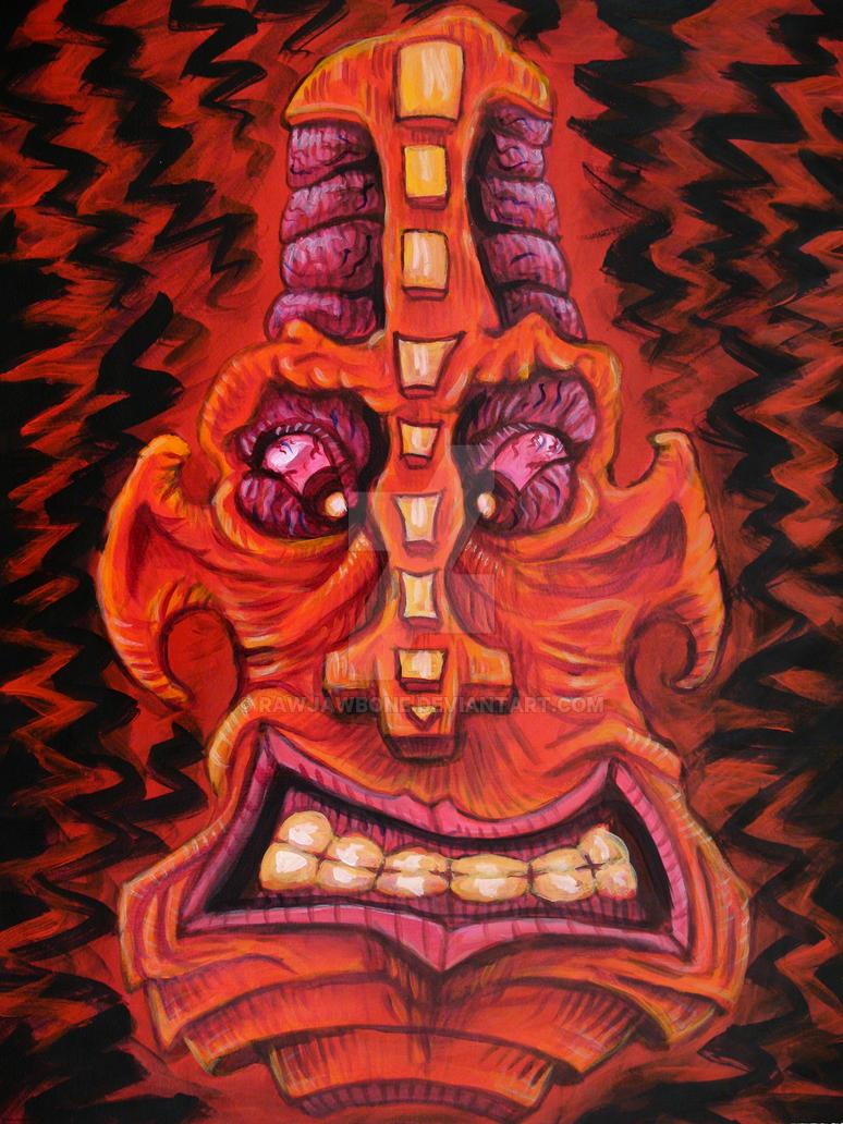 SUCKAHACHI-Blockhead 3 by rawjawbone