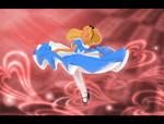 Spinning to Wonderland