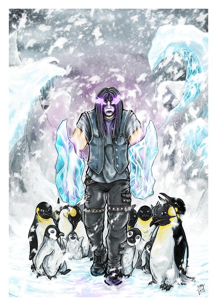 Metal Elementals Ice by ZeusArts