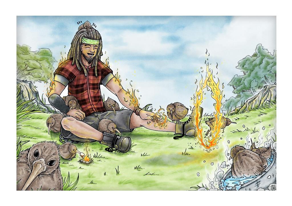 Metal Elementals Fire by ZeusArts