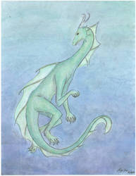 Sea Dragon by dewfallen