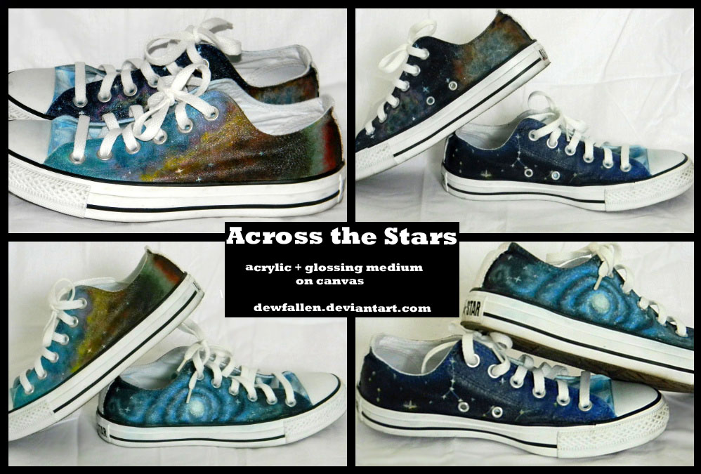 How to paint shoes shows the acrylic paint and art supplies needed to create your own designs on canvas shoes and sneakers. This is part of the complete ebook, How to Paint Shoes: Beginners Guide to Painting Canvas Shoes with Acrylic Paint, available for instant download.