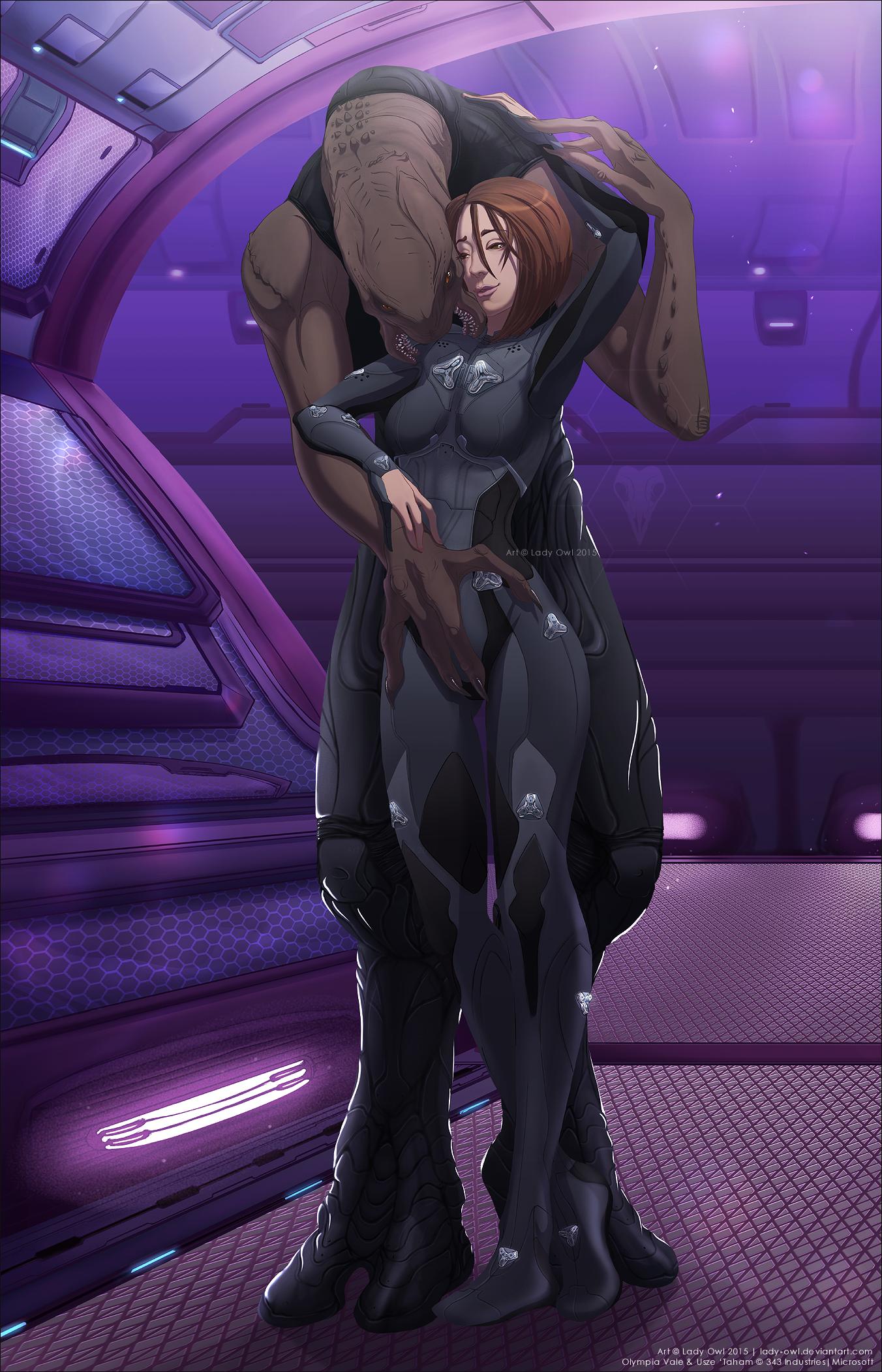 Halo 5 vale hentai nudes scenes