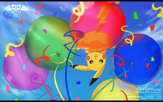 Pokemon 25th Anniversary : Pikachu Celebration