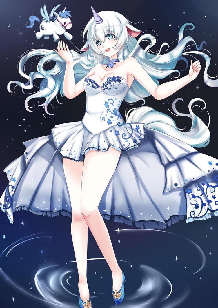 Anime Cute Unicorn Girl Drawing Anime Wallpapers