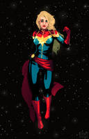 captain marvel by kiilea