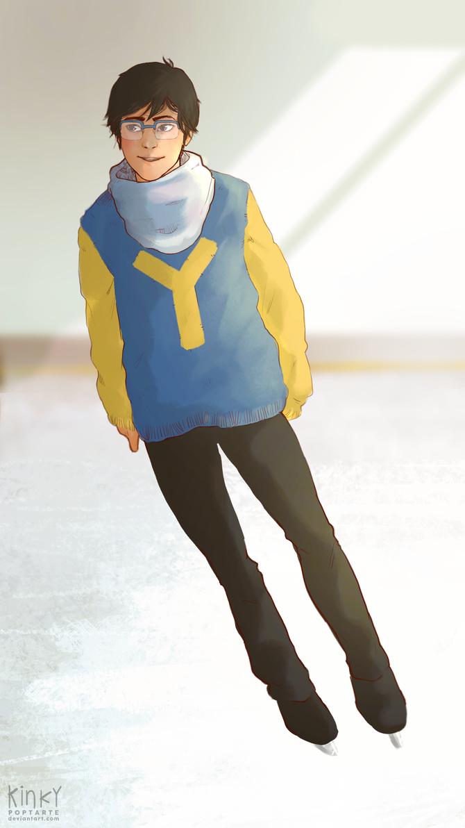 yuuri by kinkypoptarte
