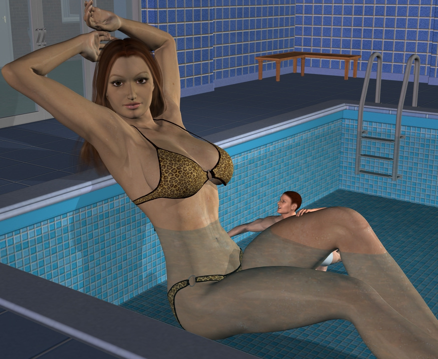 Giant pool by Fembod3d