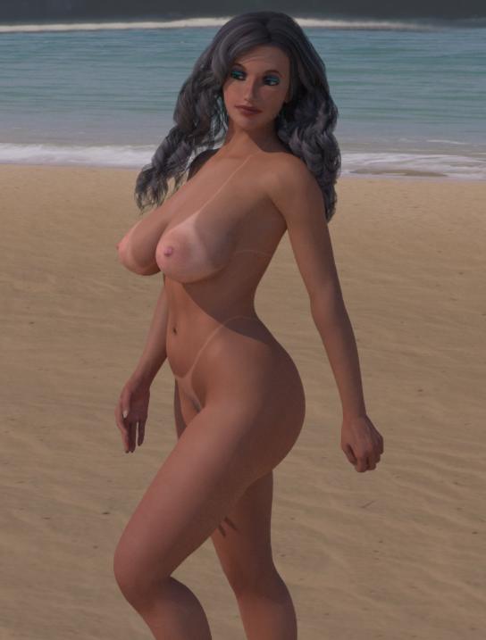 Private Beach by Fembod3d