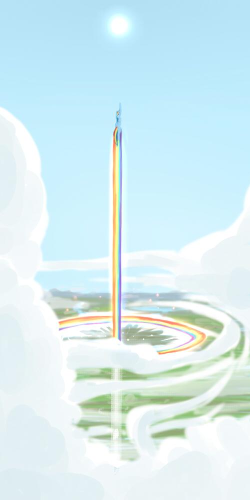 Rainbow Flyer by UC77