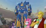 Ponies Dig Giant Robots