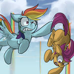 Don't Drop the Scootaloo!