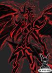 Shadow Monster by NadleehWolfDragon000