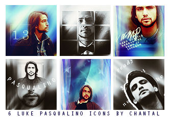 Luke Pasqualino Icons