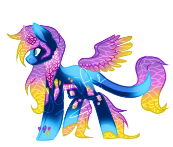 [CLOSED] Sea Glass Pony Adopt by Jeanify