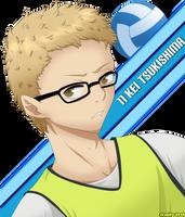 Haikyuu!! Tsukishima by Jeanify