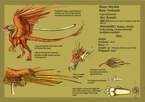 Reyshia Ref Sheet by Shanti-blue-lizard