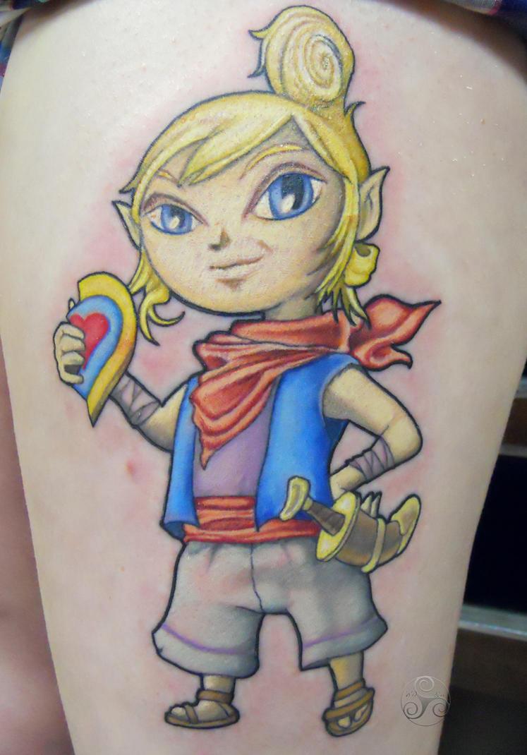 Zelda tat of Tetra by Klyde-Chroma
