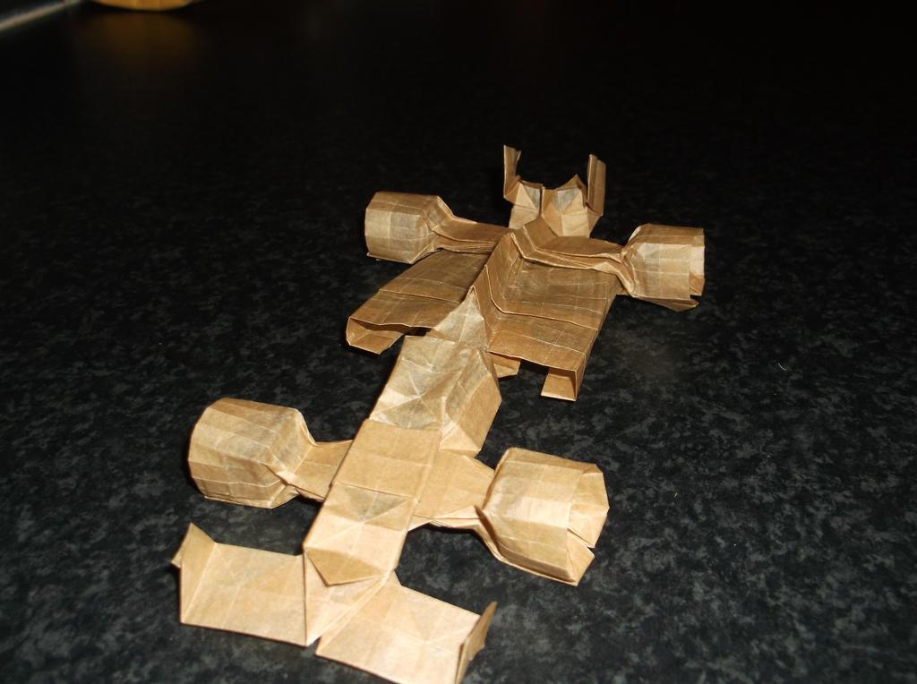 Origami F1 Car By Tuftedduck