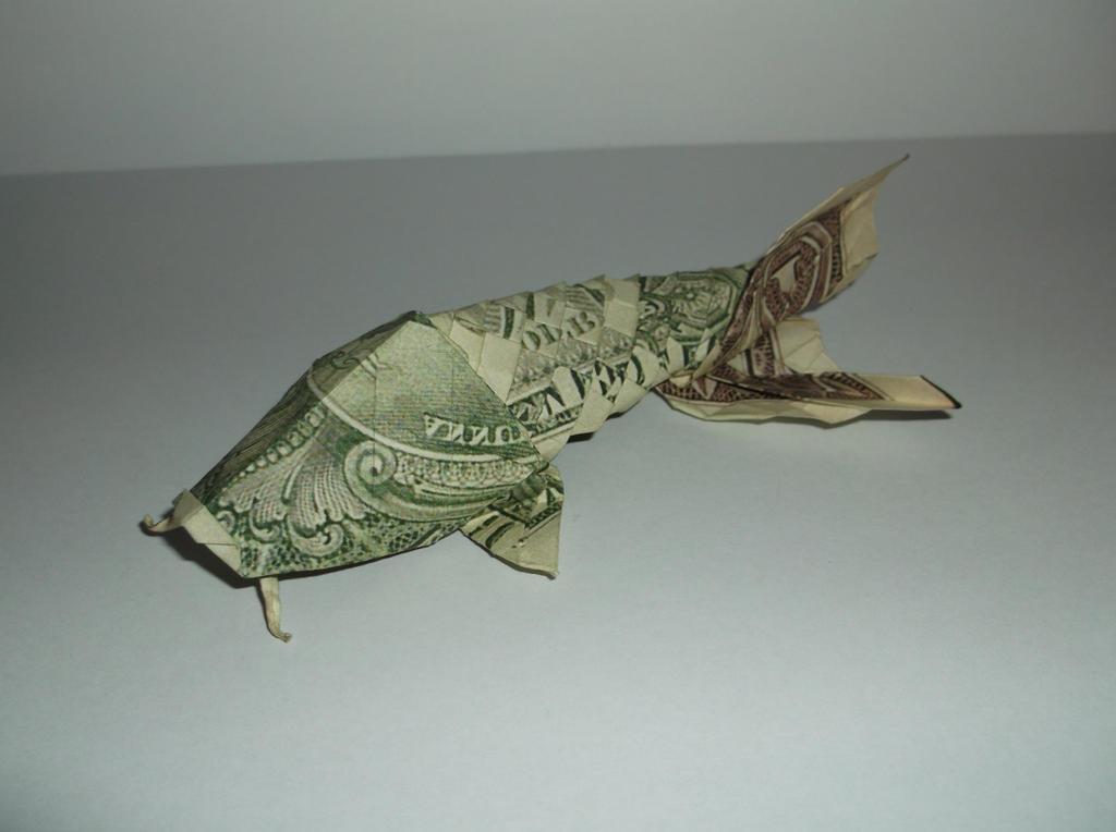 Origami Koi Fish Won Park By Tuftedduck On Deviantart