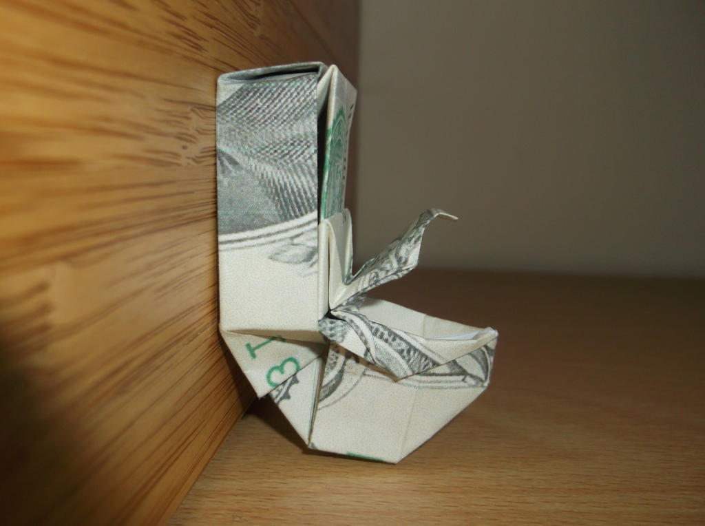 Origami Toilet Won Park By Tuftedduck On Deviantart