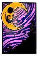 Lunar colouring by AbussLunaris