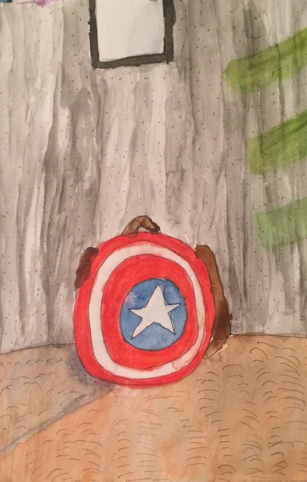 cap's shield by Pudgester95