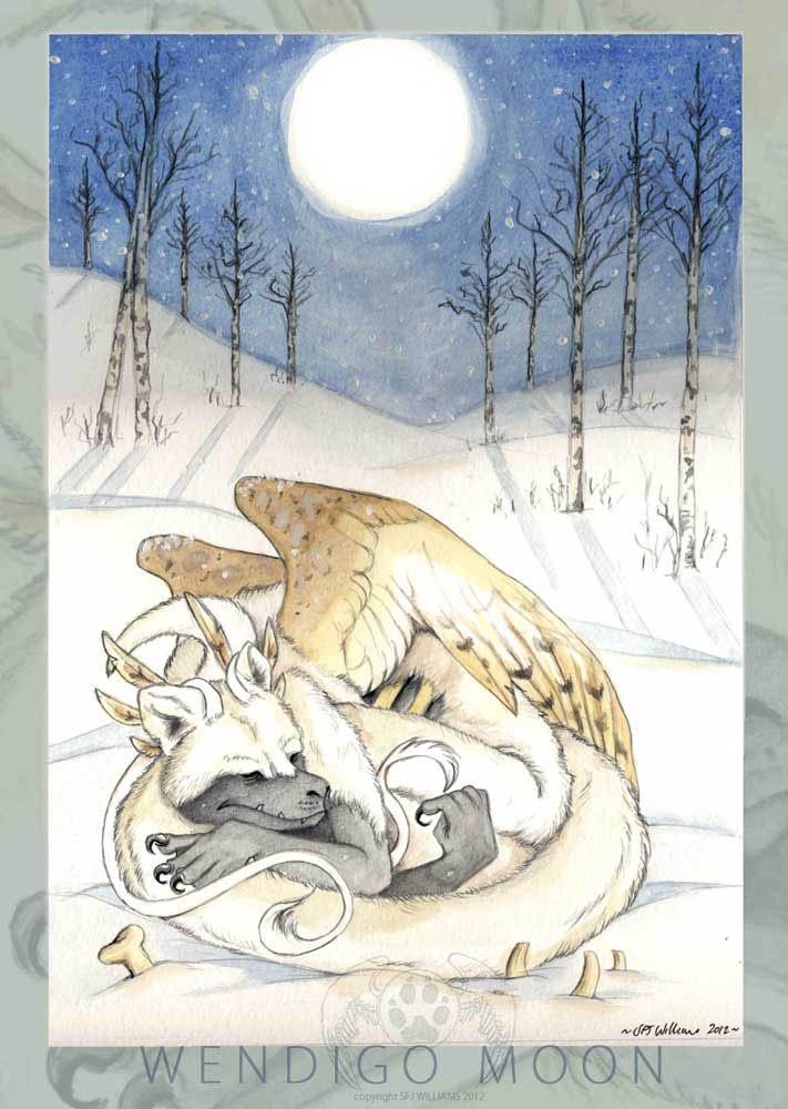 Wendigo Moon by vladimirsangel