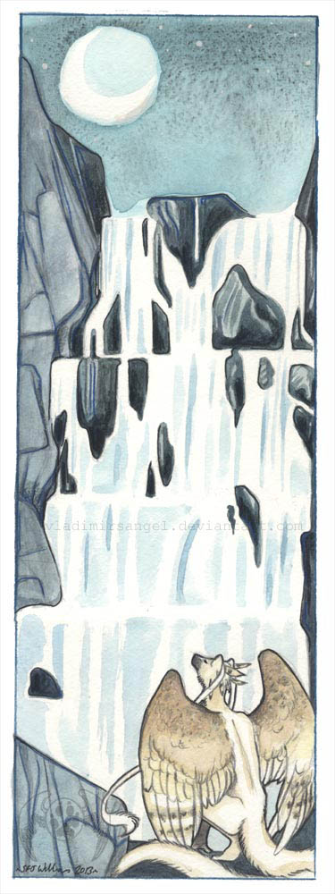 Waterfall by vladimirsangel